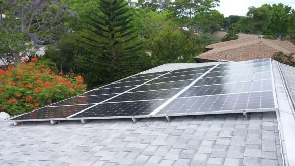 Home Solar Panel Installation