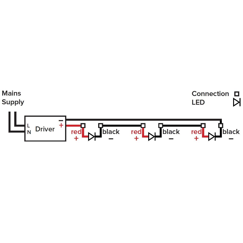 Txdel 350dali Constant Current Driver Single