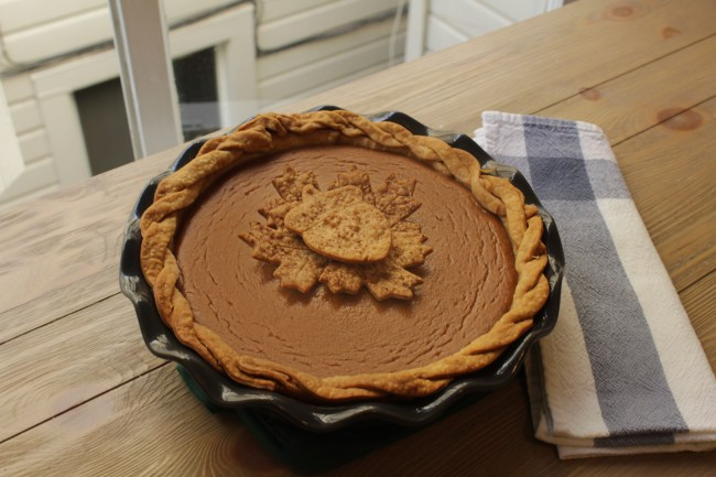 Brilliantly Delicious Pumpkin Pie