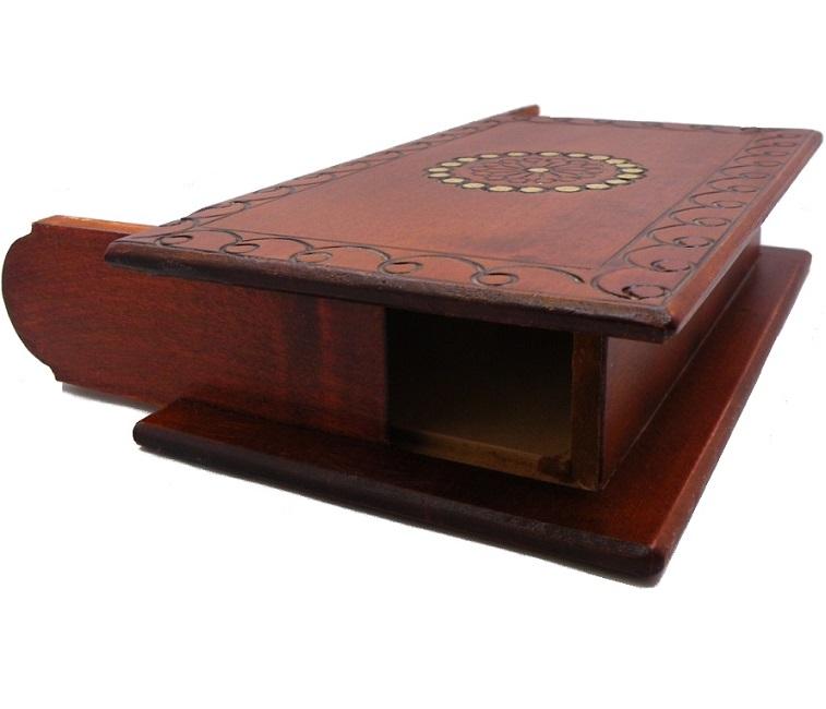 Book Of Secrets Secret Wooden Puzzle Box