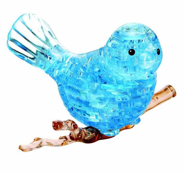 3d Crystal Puzzle Blue Bird