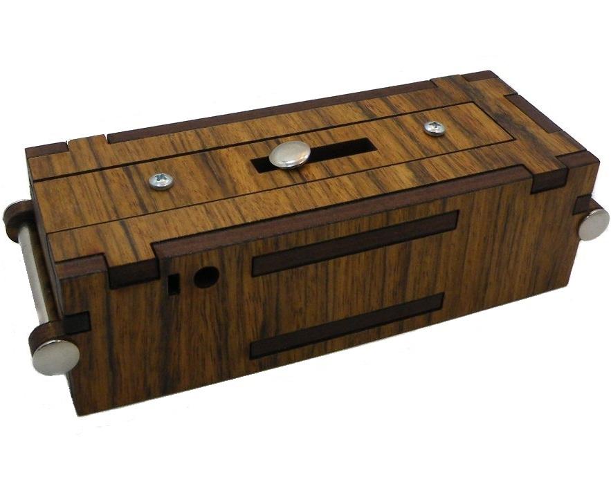Streichholzbox Matchbox Secret Wooden Puzzle Box