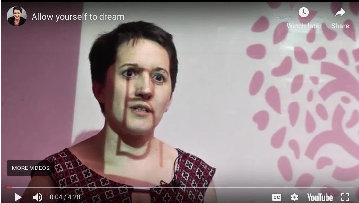 (client story + VIDEO) Are you allowing yourself to dream?