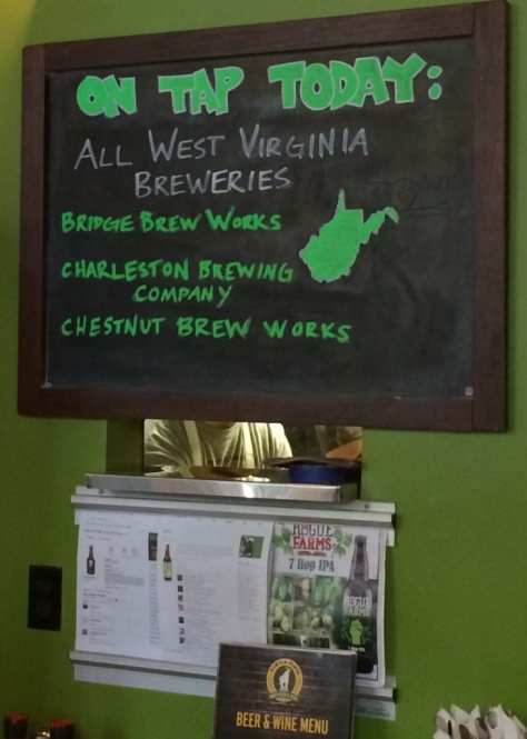 WV beer tap takeover