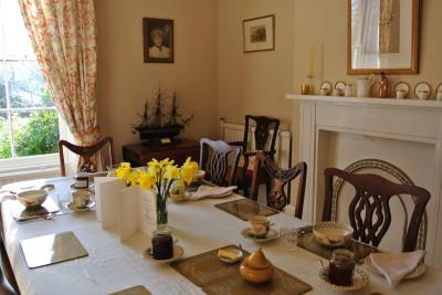 Dinning room Brimford House Shrewsbury