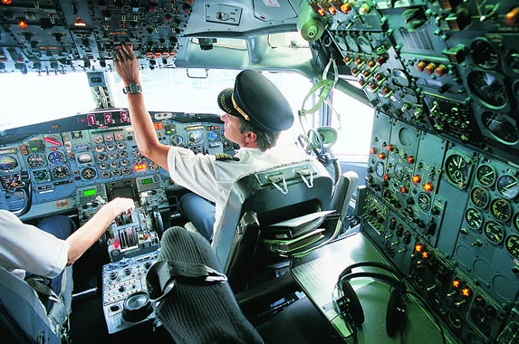Aircraft pilots and flight engineers | James Lauritz/Getty Images