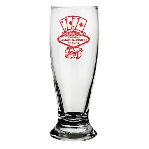 Copos de Vidro Tulipa para Cerveja Personalizados Modelo Munich 300ml para Brindes e Eventos