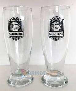 Copos de Vidro Tulipa para Cerveja Personalizados Modelo Munich 300ml para Brindes e Eventos 4