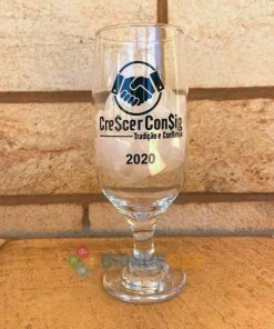 Taças de Vidro Personalizadas de Cerveja Floripa 300ml 4