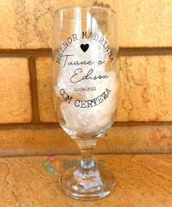 Taças de Vidro Personalizadas de Cerveja Floripa 300ml 5