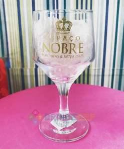 Taça de Vidro Personalizada Bistrô para Vinho Tinto e Branco 260ml 3