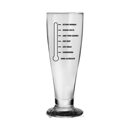Copos de Cerveja Personalizados - Modelo Tulipa