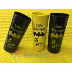 Copos Long Drink Personalizados Luis Henrique 5 Anos