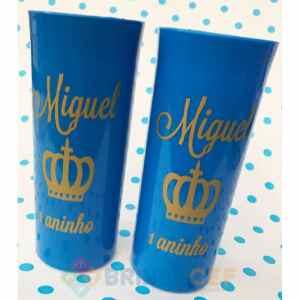 Copos Long Drink Personalizados Miguel 1 Aninho