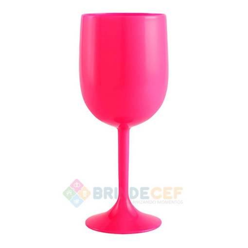 Taça de Vinho de Acrílico Personalizada para Brindes e Eventos