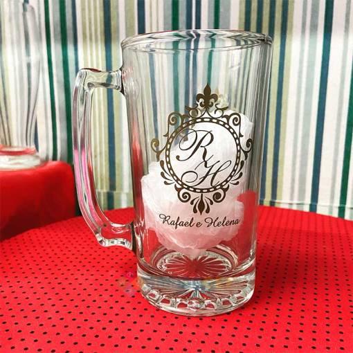 Canecas de Vidro Para Cerveja Personalizadas 383mL Manhattan
