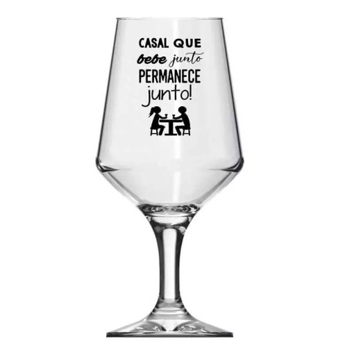 Taça de Vidro de Cerveja Personalizada Brunello 400ml
