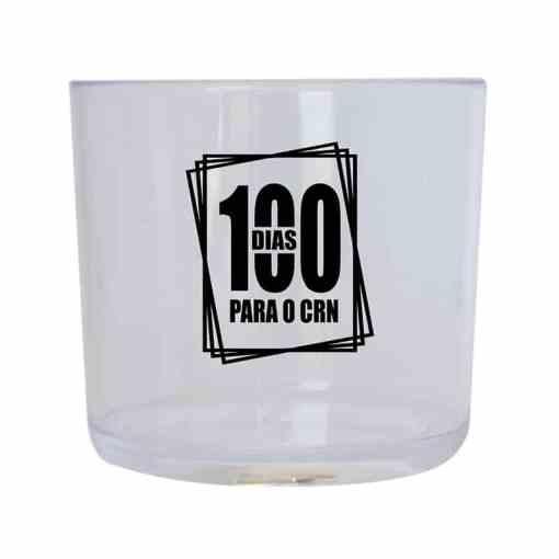 Copo de Acrílico de Whisky 330ml Personalizado