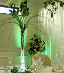 Vase soliflore fleuri