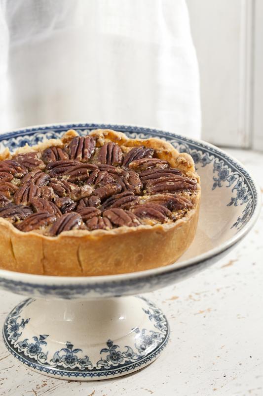 pecan pie tarte aux noix de p can caram lis es brin de cuisine pecan pie tarte aux noix de. Black Bedroom Furniture Sets. Home Design Ideas