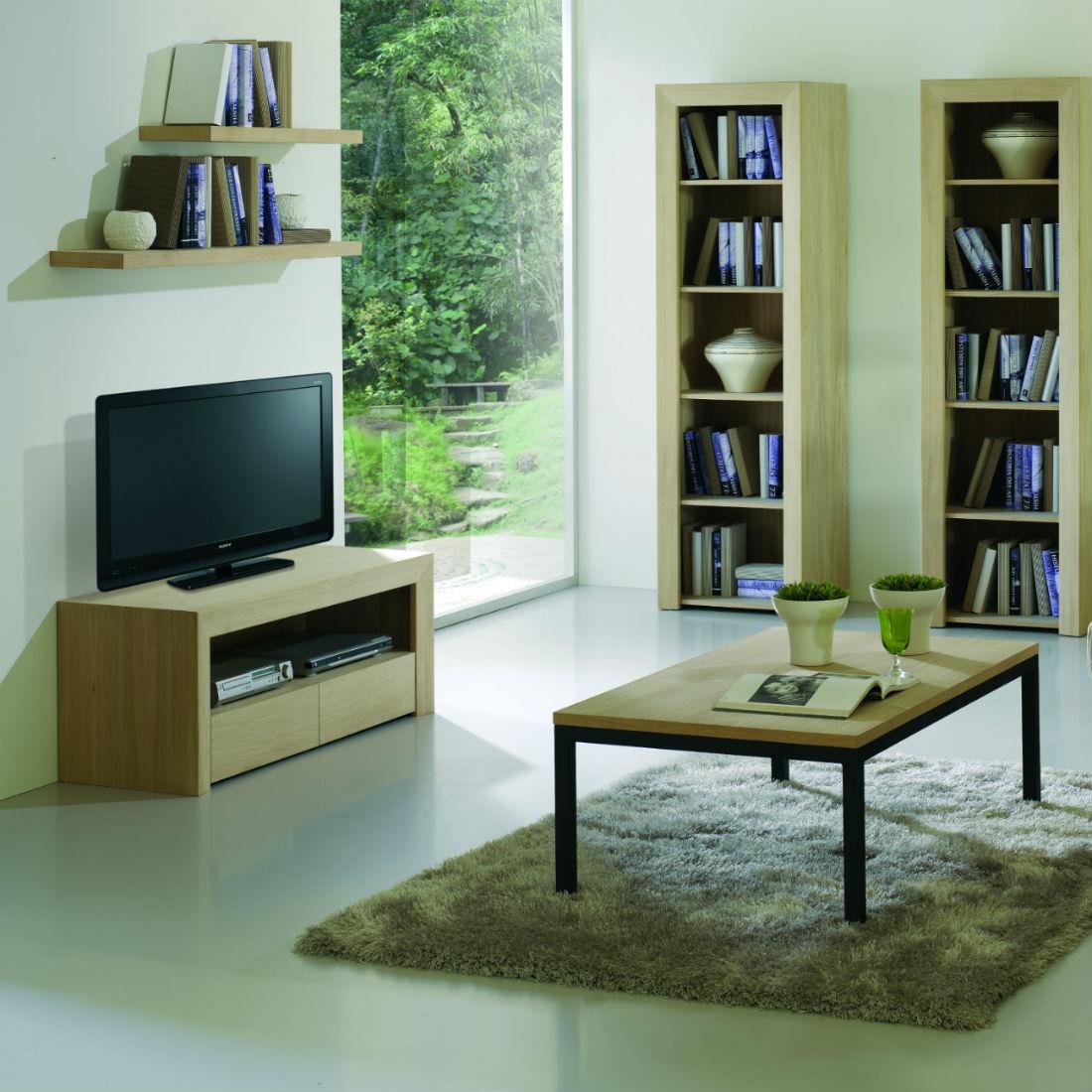 meuble tv design en bois