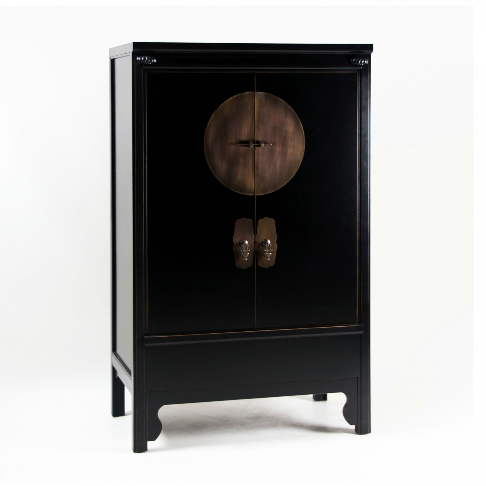 armoire chinoise noire