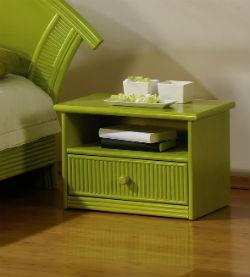 table de chevet en rotin meuble rotin