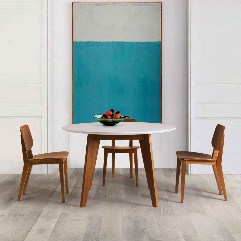table ronde design scandinave