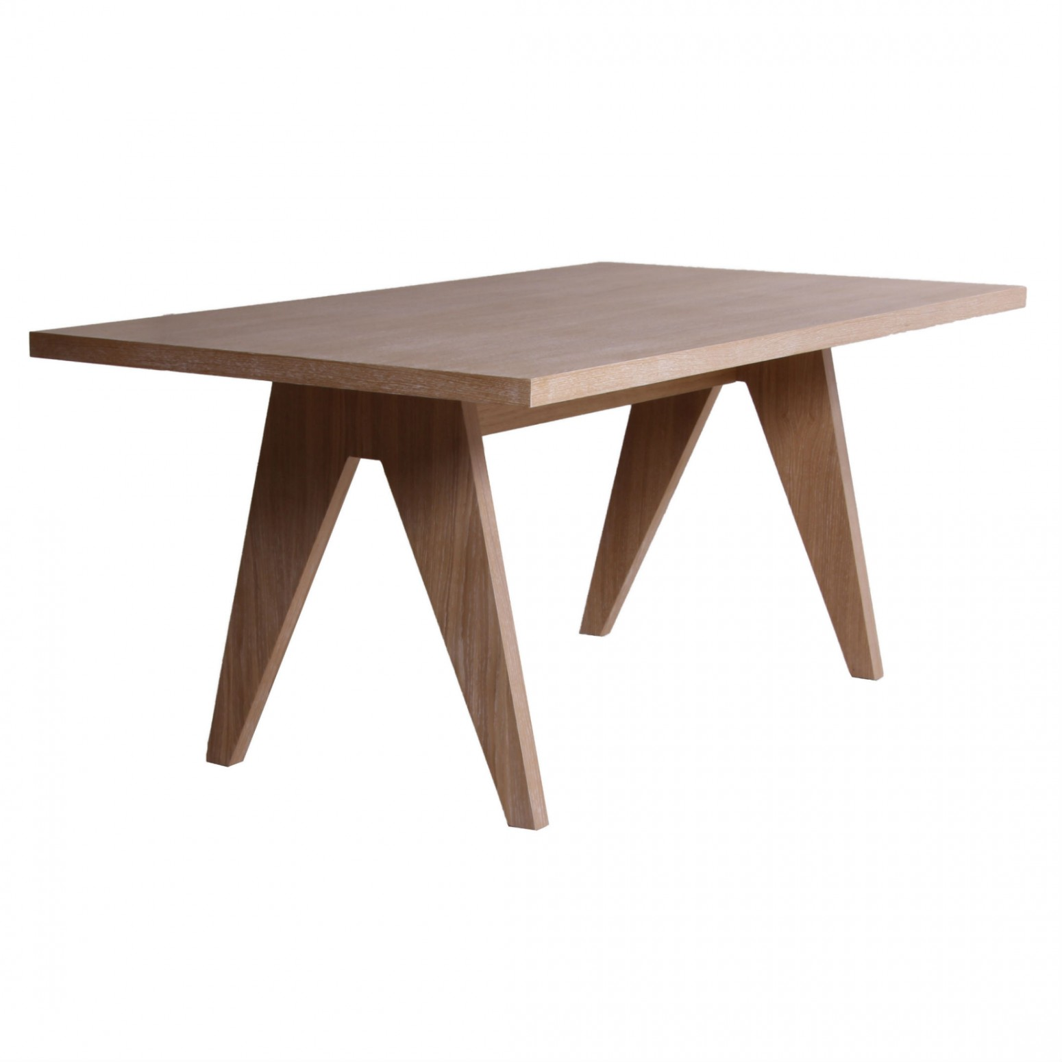 table de salle a manger rectangulaire en bois