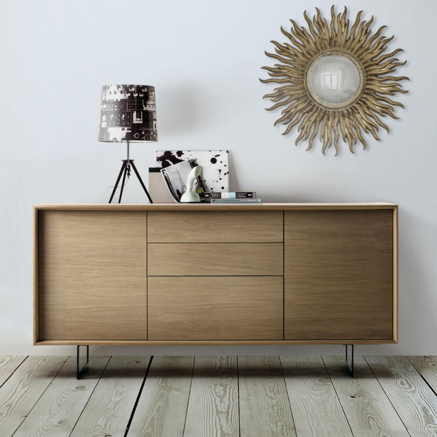 meuble buffet design en bois