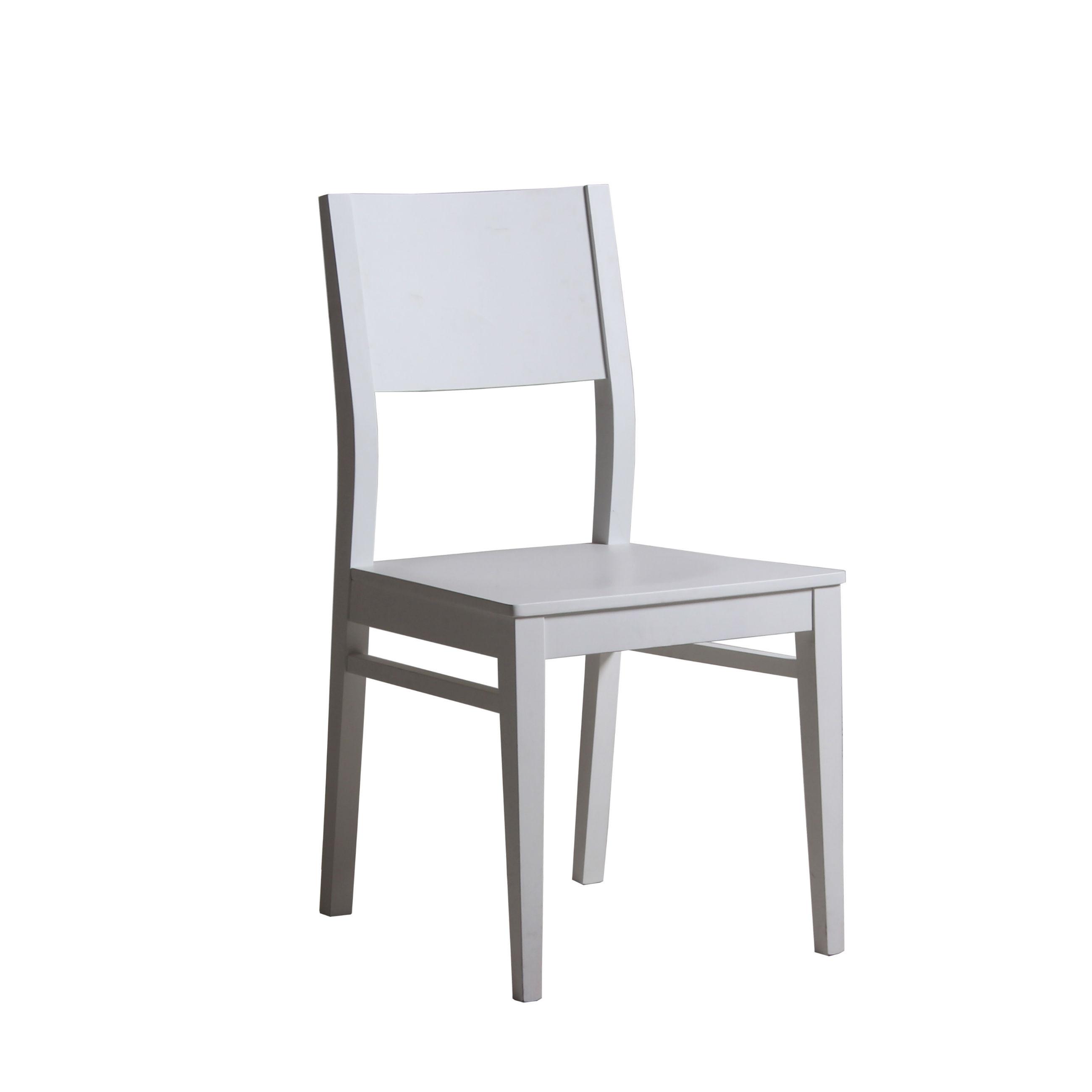 chaise de salle a manger contemporaine en bois massif brin d ouest