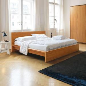 lit 2 places contemporain en bois