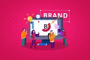 ilustracao-de-como-fazer-uma-marca-com-a-equipe-de-branding
