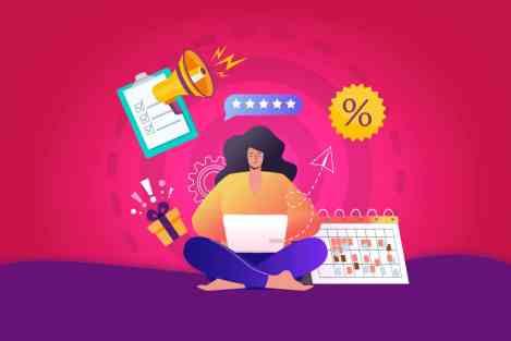 ilustração-representando-dia-do-cliente-ações-de-marketing