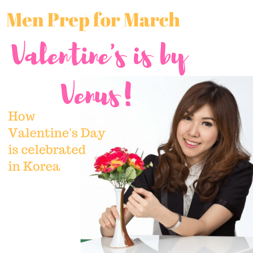 Men Prep for March, Valentine's is by Venus