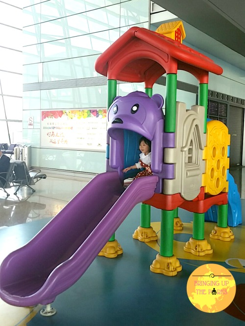 Beijing Airport Playground_Philippine Airlines Review
