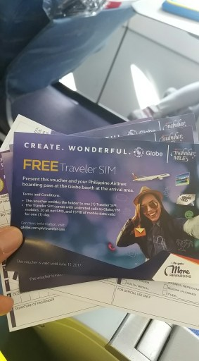 Globe Promo_Philippine Airlines review