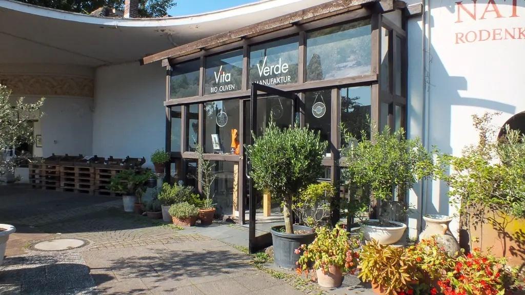 Vita verde Ladenlokal foto Innenhof