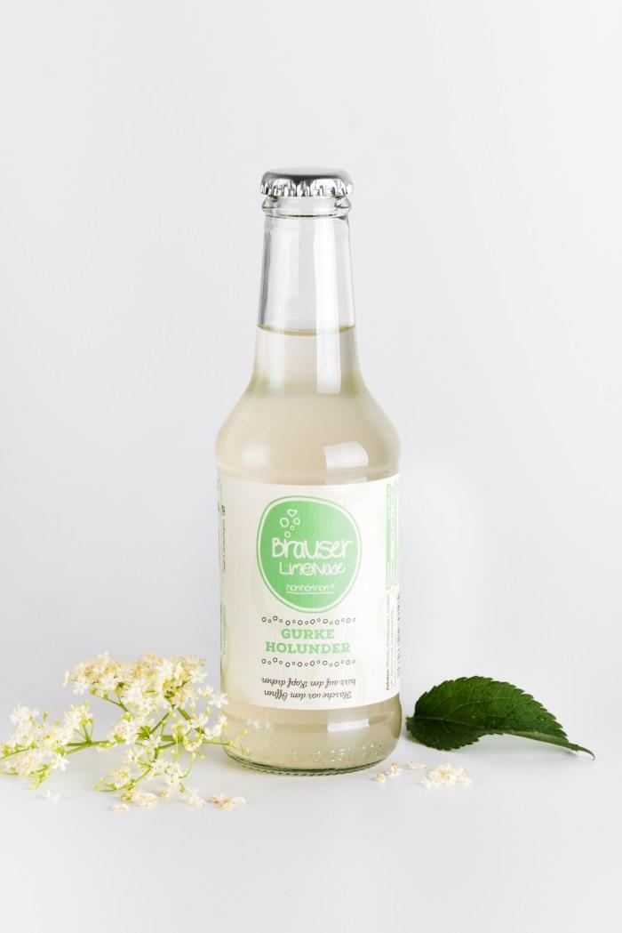 Gurken Holunder Limonade Brauser Produktbild 1
