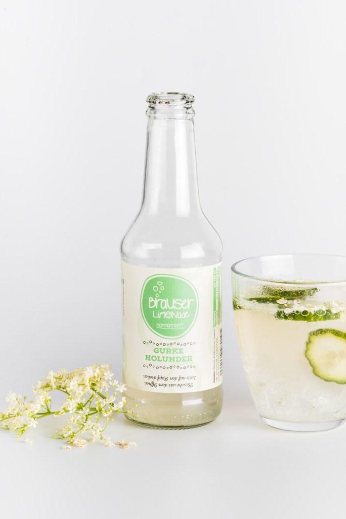 Gurken Holunder Limonade Brauser Produktbild 2