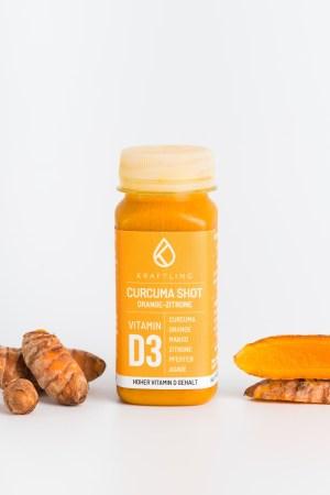 Curcumashot Orange Zitrone Kraftling Produktbild 2