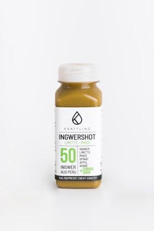 Ingwershot Limette Minze Kraftling Produktbild 1