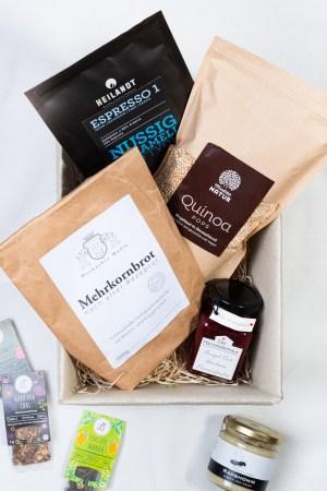Anne Kaffeekanne Frühstückspaket Geschenkbox Produktbild offen