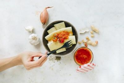 Nudeln mit Tomatenpesto von der Nippesküche