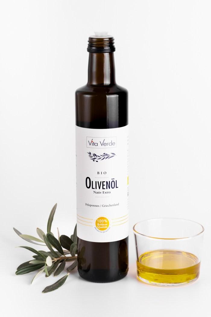 Olivenöl - Nativ Extra Vita Verde Produktbild 2