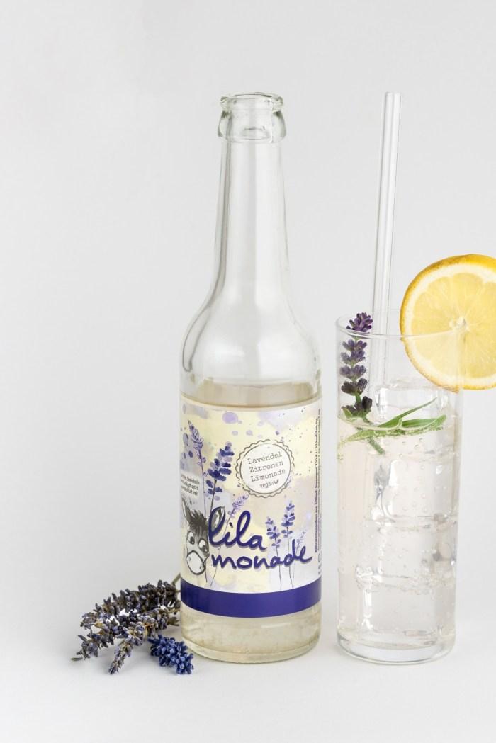 Lavendel-Zitronen Limonade Lilamonade Produktbild 2