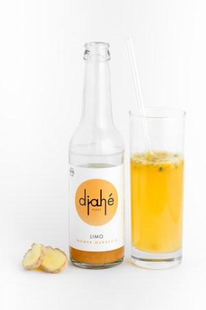 Ingwer Maracuja Limonade Djahé Produktbild 2