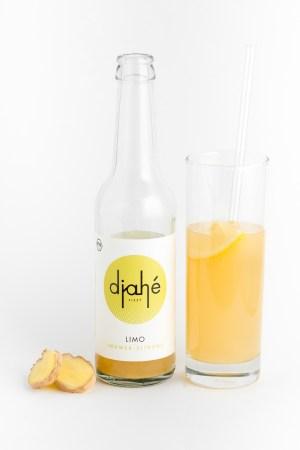 Ingwer-Zitronen Limonade Djahé Produktbild 2