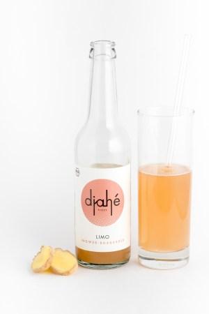 Ingwer Rhabarber Limonade Djahé Produktbild 2