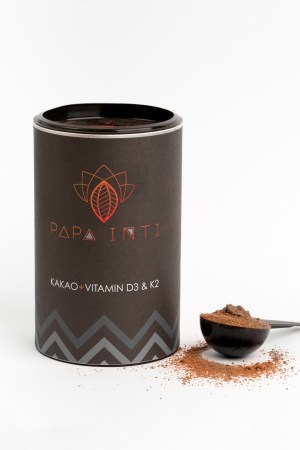 Rohkakaopulver mit Kokosblütenzucker von Papa Inti Produktbild